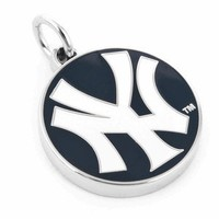 New York Yankees Double-Sided Pendant Charm-CLI-PD-NYY2-CH