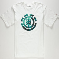 Element Hydro Mens T-Shirt White  In Sizes