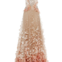 Petal Skirt Ball Gown | Moda Operandi