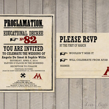 Wedding invitation Set Harry Potter - Save the Date (Acceptance Letter Hogwarts and Train Ticket), Invitation, RSVP - Digital file