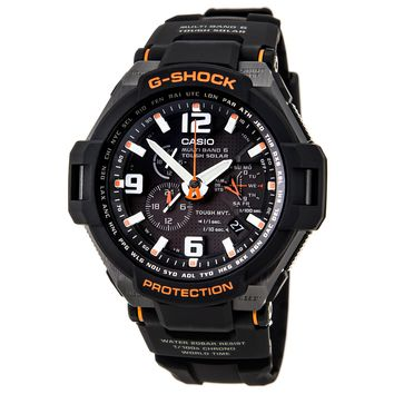 Casio GW4000-1A Men's G-Shock Multiband Tough Solar Power Black Dial Atomic Alarm Watch