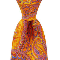 Ted Baker London Vibrant Paisley Silk Tie