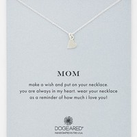 Women's Dogeared 'Mom' Pendant Necklace