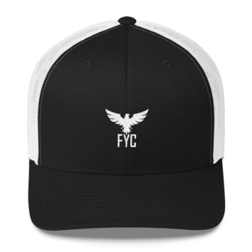 FYC Mid-Profile Trucker Hat With Mesh Back