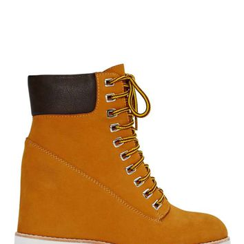 Jeffrey Campbell Wallace Wedge Boot