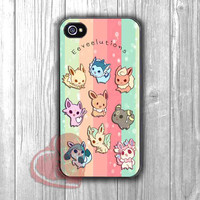 Cute Eeveelutions chibi colorful art - shin for iPhone 4/4S/5/5S/5C/6/ 6+,samsung S3/S4/S5,samsung note 3/4