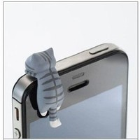 Amazon.com: 1pc Cheese Tabby Cat 3.5mm Anti Dust Earphone Jack Plug Stopper Cap for Iphone HTC: Cell Phones & Accessories