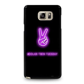 DOLAN TWIN TUESDAY Samsung Galaxy Note 5 Case Cover