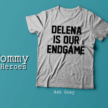 Delena is our endgame, The vampire diaries Tshirt , Adult t shirt,Dady T shirt, Mommy Tshirt