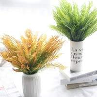 Simulation simulation flower flowers leaves feel Persian leaves Mother's Day [9571278989]