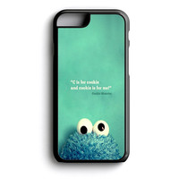 Cookie Monster iPhone 4s iPhone 5 iPhone 5c iPhone 5s iPhone 6 iPhone 6s iPhone 6 Plus Case | iPod Touch 4 iPod Touch 5 Case