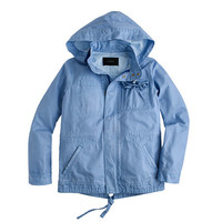 J.Crew Womens Petite Summerweight Hooded Utility Jacket
