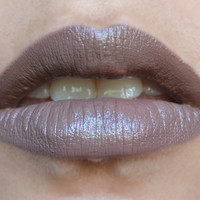 BONE DUST *Limited Edition* grey nude lipstick by Insomnia Cosmetics- vegan and cruelty free