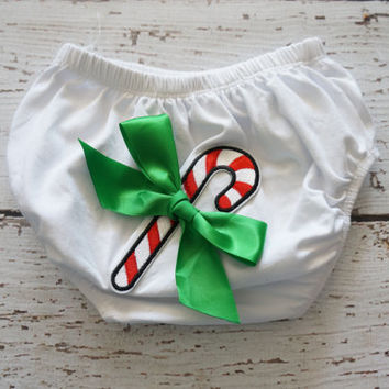 Girls Christmas Diaper Cover - Cloth Diaper over - baby Bloomer cover - Christmas Bloomers - Newborn Christmas Outfit - christmas - baby