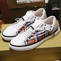 Boys & Men Burberry Fashion Casual Sneakers Sport Shoes