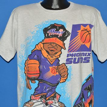 90s Phoenix Suns Wrap Around t-shirt Large