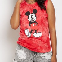 Mickey Mouse Tie Dye Tank Top | Graphic Tanks | rue21