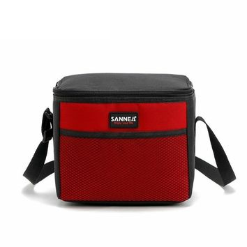 New Fashion Portable Insulated Cotton lunch Bag Thermal Food Picnic Lunch Bags for Women kids Men Cooler Bag Lunch Box