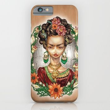 KAHLO iPhone & iPod Case by Tim Shumate