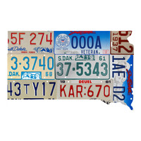 South Dakota License Plate wall decal