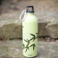 **Bamboo Leaves Water Bottle**