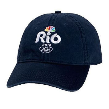 NBC Rio Olympics 2016  Official Licensed Baseball Cap