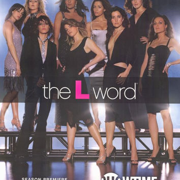 The L Word 11x17 TV Poster (2004)