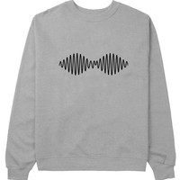 new arctic monkeys sweater Gray Sweatshirt Crewneck Men or Women for Unisex Size with variant colour