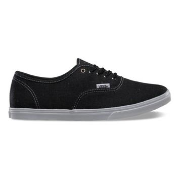 Vans Speckle Linen Authentic Lo Pro (black)