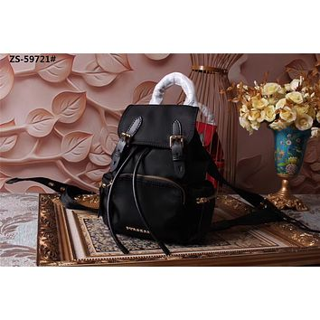 BURBERRY NEW STYLE CANVAS BACKPACK BAG