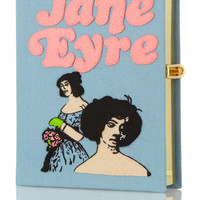 Olympia Le-Tan | Jane Eyre embroidered clutch | NET-A-PORTER.COM