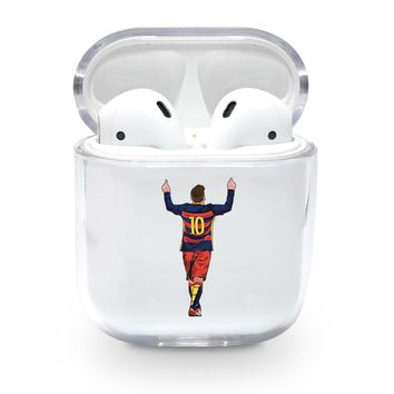 Messi Barcelona Airpods Case