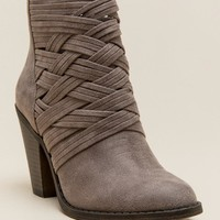 Fergalicious Whisper Woven Ankle Boot