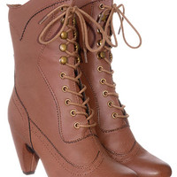 Whiskey Mill Victorian Boots - PLASTICLAND