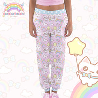 Cute Cat Jogger Pants