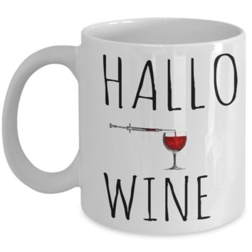 Scary Halloween Coffee Red Wine Mug White Ceramic Coffee Mug Halloween 2017 For Adults Fun Holiday Dracula Blood Syringe Gift Cup Cookie Jar & Pen Holder