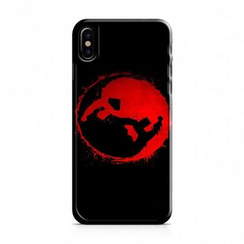 Batman v Superman Yin Yang iPhone X Case