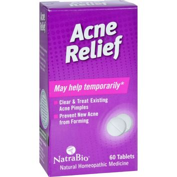Natrabio Acne Relief - 60 Tablets
