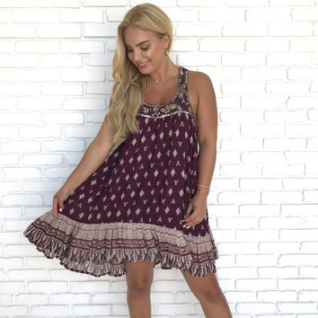 Festival Chica Beaded Dress