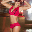 Red Two-Piece Swimsuit