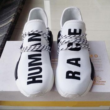 NMD Human Race Runner Shoes Yellow Hu man Pharrell Williams nmd Size 13 NMD Boost Runn