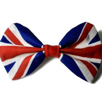 British Flag / Union Jack Hair Bow