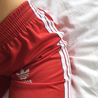 """Adidas"" Women Loose Exercise Sport Pants Trousers Sweatpants"