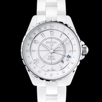 J12 white - Watchmaking - CHANEL