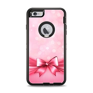 The Magical Pink Bow Apple iPhone 6 Plus Otterbox Defender Case Skin Set