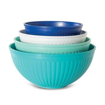 Nordic Ware 4 Piece Prep & Serve Mixing Bowl Set