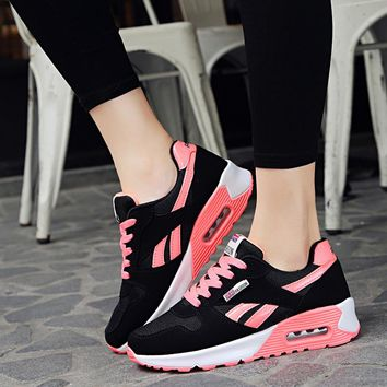 Woman sneakers tenis feminino casual shoes 2018 Women shoes fashion spring pu leather flats lace up ladies shoes woman