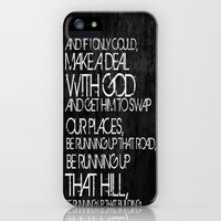 Running Up That Hill iPhone Case by Digi Treats 2