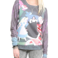 Disney Alice In Wonderland Croquet Crew Pullover