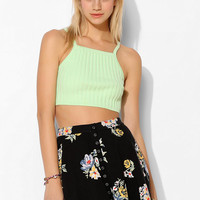 BDG Rib-Knit Sweater Cropped Tank Top - Urban Outfitters